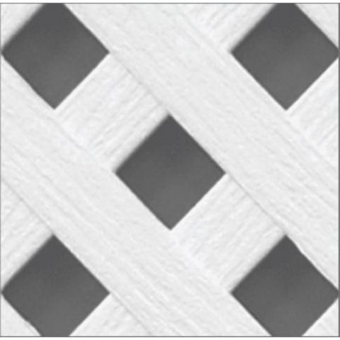 Crossover Privacy Diamond Lattice Panel