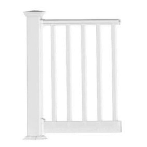 Endurance Original Rail Level Rail Kit with Square Balusters - 42 in Height