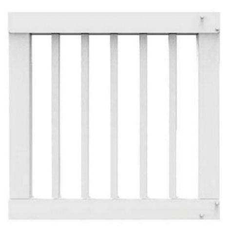Crossover Standard Width Gate Kit with 1-1/4 in Square Balusters - 36 in Height