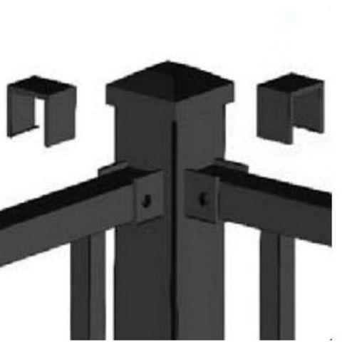 Metal Works® Excalibur® Corner Post Assembly for 42 in Rail