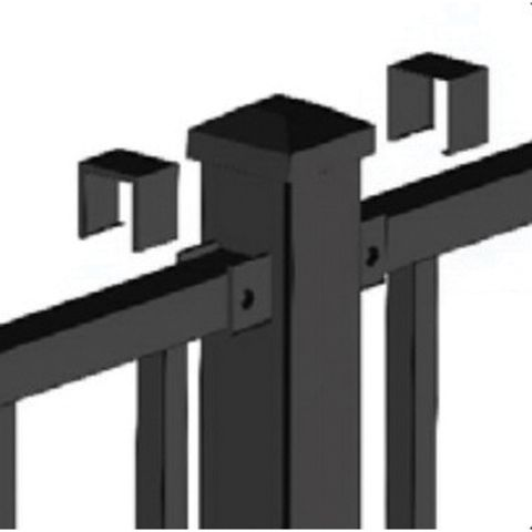 Metal Works® Excalibur® Mid Post Assembly for 36 in Rail