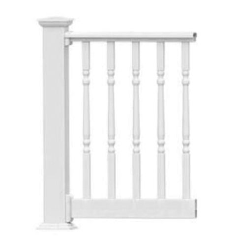 Endurance Original Rail Level Rail Kit with 1-1/4 in Turned Aluminum Balusters - 36 in Height