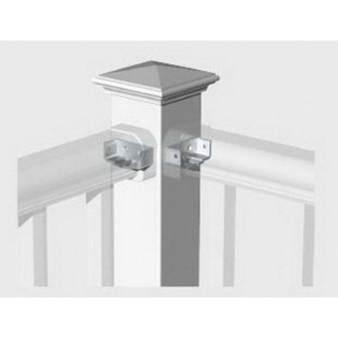 "Titan Pro Rail Corner Post Assembly for 42"" Rail Height"