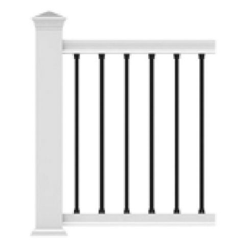 Transform Round Aluminum Balusters - 10 Pack