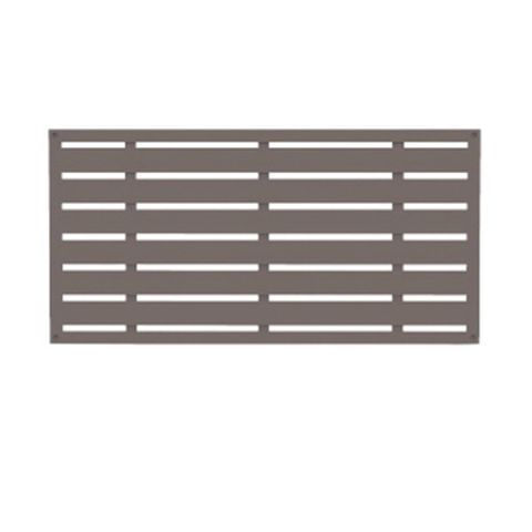 Outdoor Accents Boardwalk Decorative Screen Panel