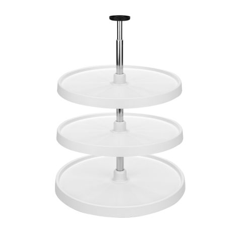 Value LineTM 3000 Series 3-Shelf Full Circle Lazy Susan