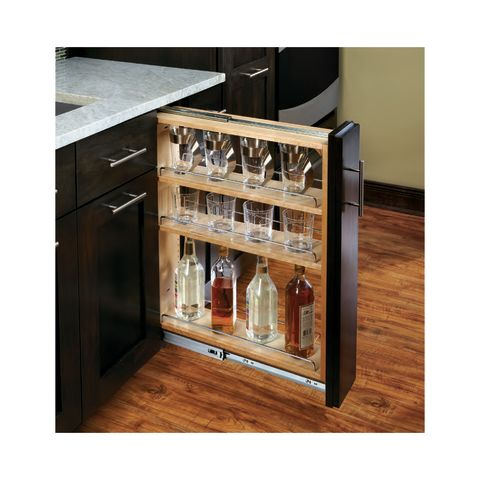432 Series Pull-Out Base Cabinet Filler Organizer with Ball Bearing Slide