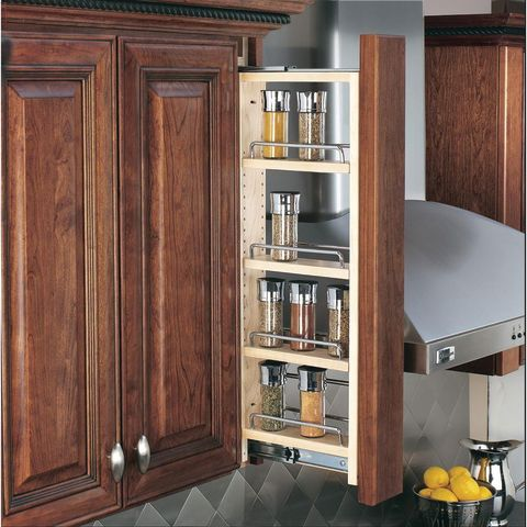 """3"""" Pull-Out Wall Cabinet Filler Organizer"""