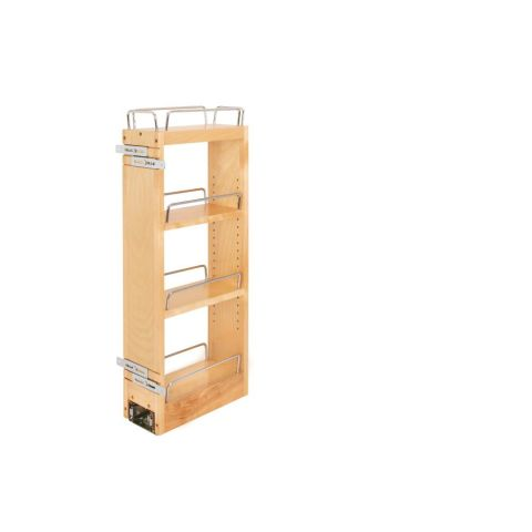 Rev-A-Shelf  Wall Cabinet Pull-Out Organizer with Rails and Blumotion Slide
