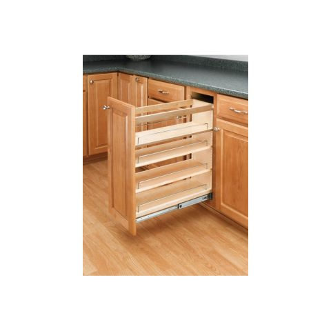 Rev-A-Shelf Base Cabinet Pull-Out Organizer With Tri-Slide Ball Bearing Slides