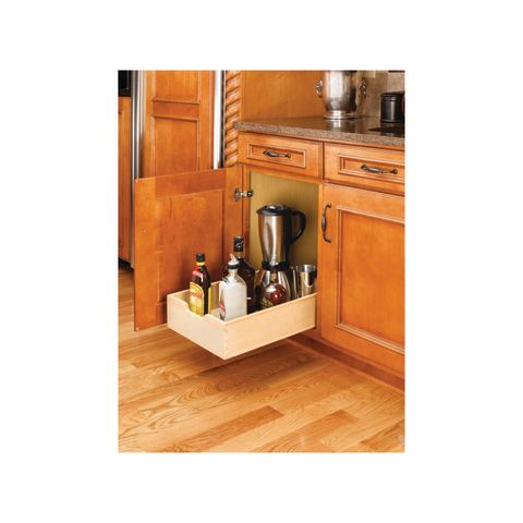 """Rev-A-Shelf 4WDB Series Base Cabinet Organizer for 18"""" Cabinets with 3/4"""" Extension Slides"""