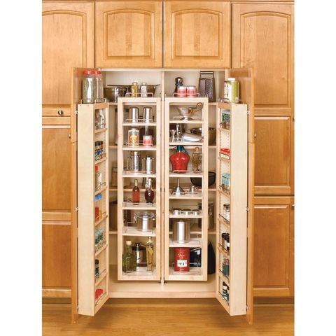 Rev-A-Shelf 4W Series Complete Swing-Out Pantry Kit with Hardware