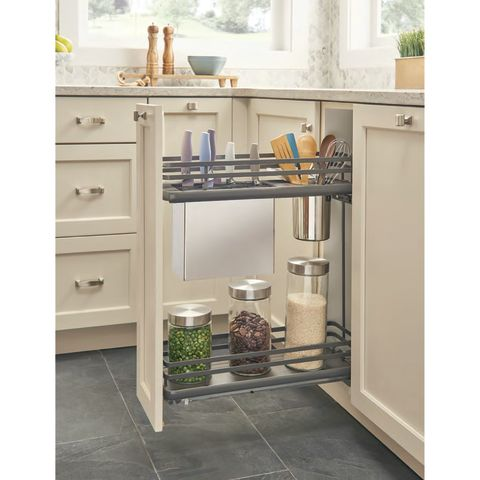 "Rev-A-Shelf 5322-FOG Series 9"" Base Knife & Utensil Organizer"