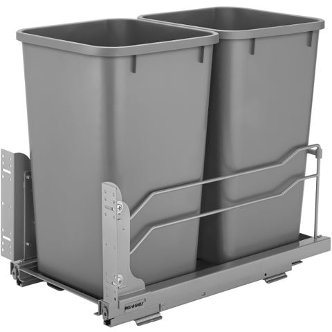Rev-A-Shelf 53WC Series Pull-Out Undermount Waste Container