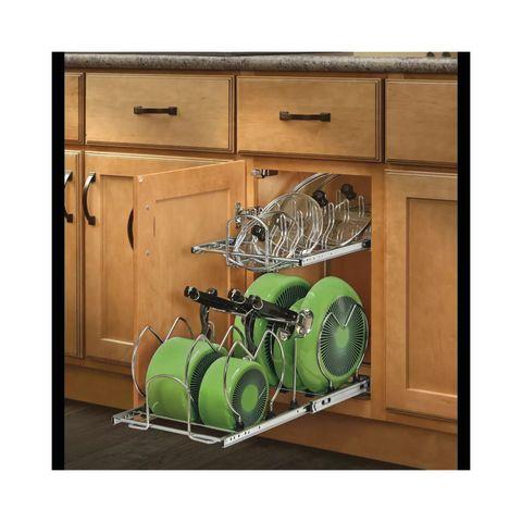 Rev-A-Shelf 5CW2 Series Base Cabinet Two-Tier Organizer - Standard Slides