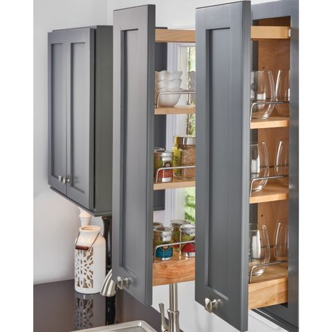 448 Series Face Frame Wall Cabinet Pull-Out with Blumotion Soft Close