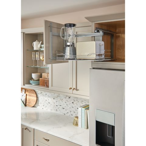 5708CR Series Chrome Above Appliance Cabinet Pull-Out