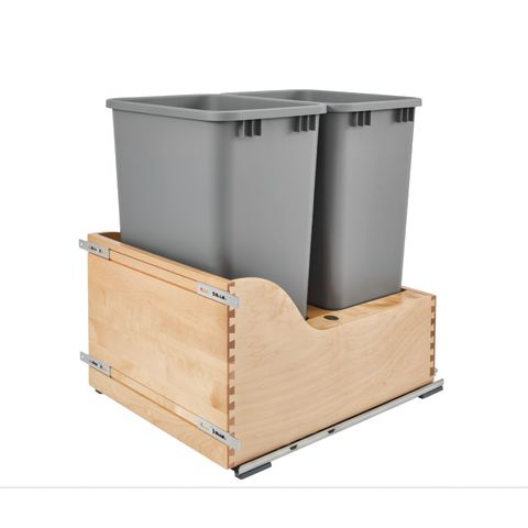 4WCSD Series 110V Electric Assist Bottom Mount Waste Container Kit