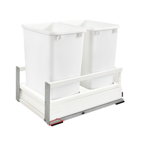 TWCSC Series Bottom Mount Tandem Waste Container