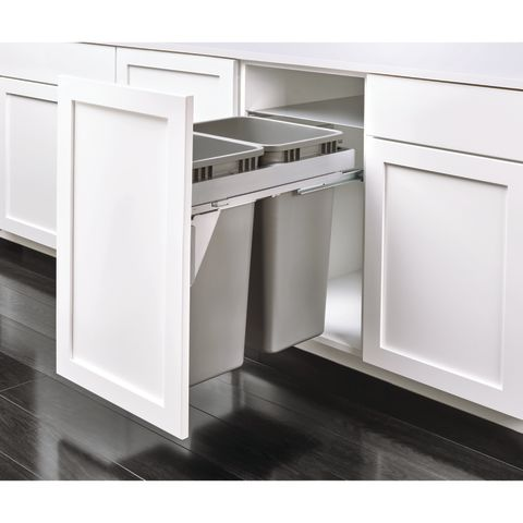 53TM Series Full Access Steel Top Mount Waste & Recycle Center Pull-Out With Soft-Close