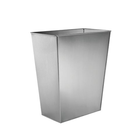 5169 Series Majestic Stainless Steel Bottom Mount Single Waste Container - No Chassis