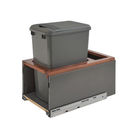 5LB Series LEGRABOX Single Waste Container Pull-Out with Soft-Close