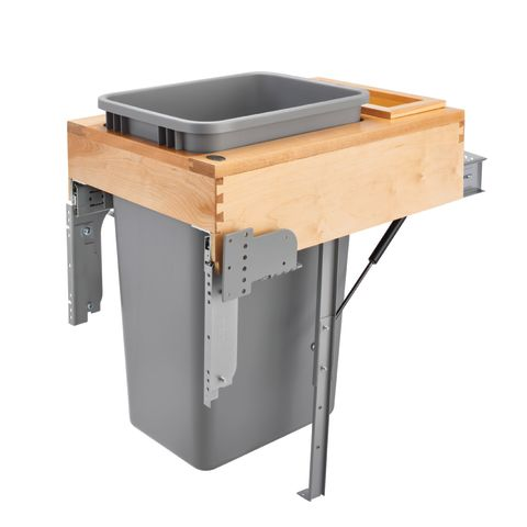 Single Top Mount Rev-A-Motion™ Wood Waste Container