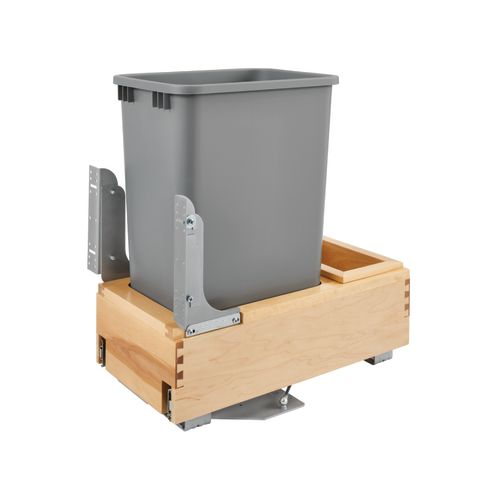 Single Bottom Mount Rev-A-Motion™ Wood Waste Container