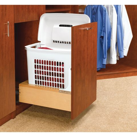4WH Series Rev-A-Motion™ Bottom Mount Hamper for Bathroom/Vanity