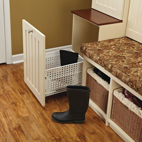 HURV Series Pull-Out Polymer Hamper/Utility Basket