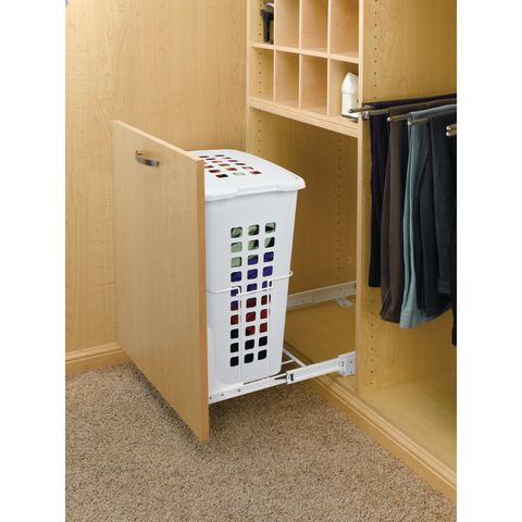 HPRV Series Pull-Out Closet Hamper With Lid