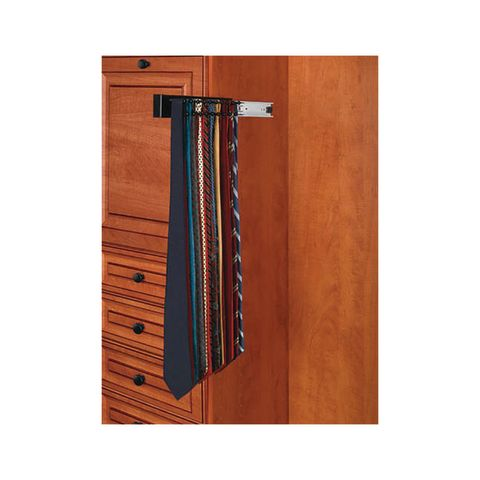 CWSTR Series Side Mount Pull-Out Wood Tie Organizer for Closet