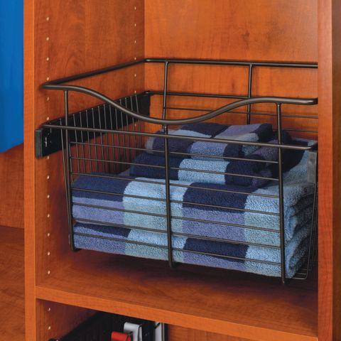 "Pull-Out Wire Basket - 16"" Deep"