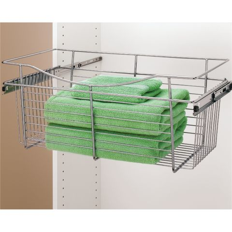 Pull-Out Wire Basket - 20 in Deep