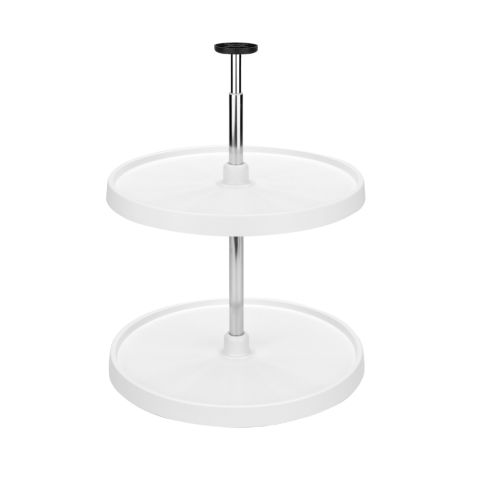 Value LineTM 3000 Series 2-Shelf Full Circle Lazy Susan
