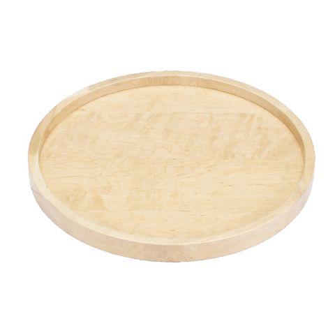 Wood Classic 4WLS Series Full Circle Single-Shelf Lazy Susan