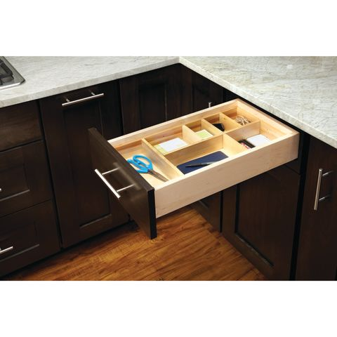 LD4CT Series Customizable Wood Drawer Organizer