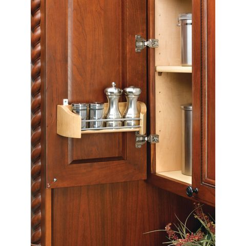 4200 Series Wood Door Storage Tray With Screw-In Clips