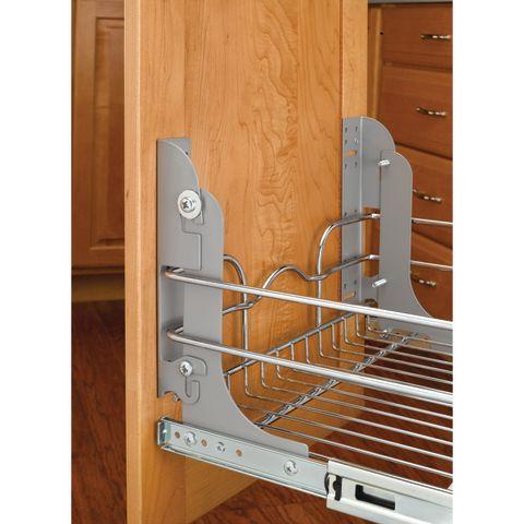 5WB Series Door Mount Kit for Wire Basket