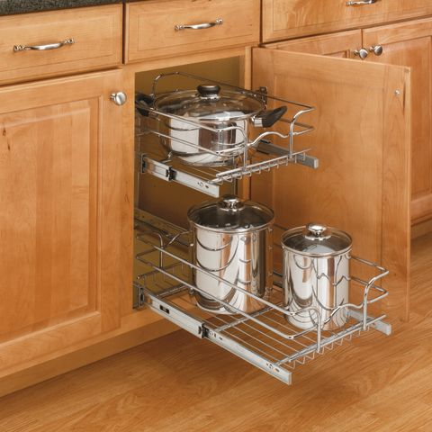 5WB Series Double Pull-Out Chrome Basket