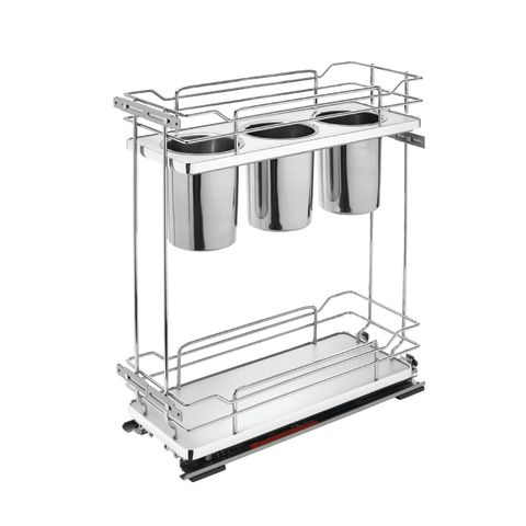 5322UT Series Base Cabinet Pull-Out Utensil Organizer With Soft Close