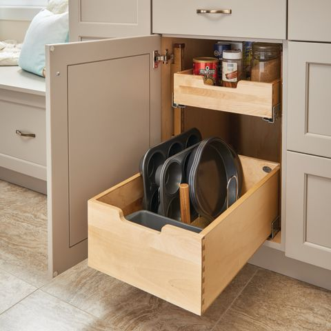 4PIL Series Pilaster System Kit with Blumotion™ Soft-Close - 2 Standard & 1 Tall Drawers