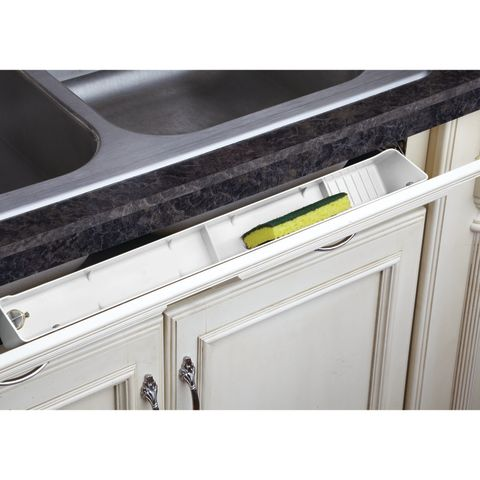 LD 6591 Series Sink Front Polymer Tip-Out Tray With Hinges