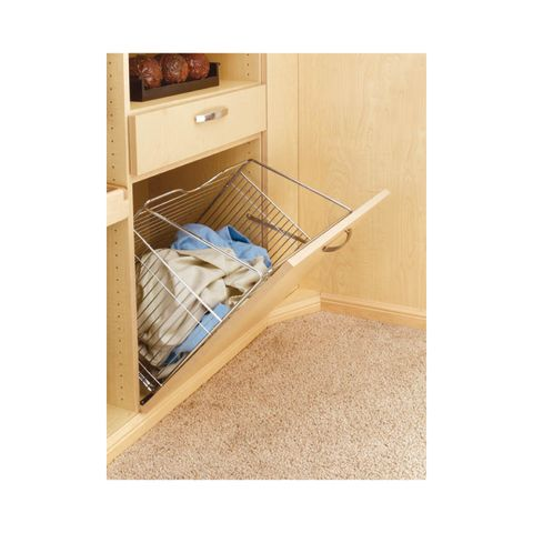 Rev-A-Shelf CTOHB Series Hamper Door Mounted Tilt-Out Basket for Closet