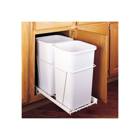 Double Pull-Out Waste Containers - 27 Quart