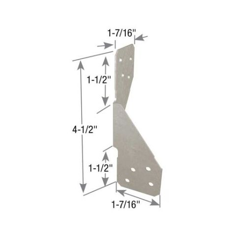 RT Series Reversible Rafter Tie/Hurricane Anchor