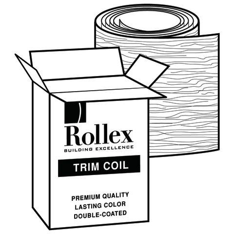 """Rollex Aurora 18"""" Steel Trim Coil"""
