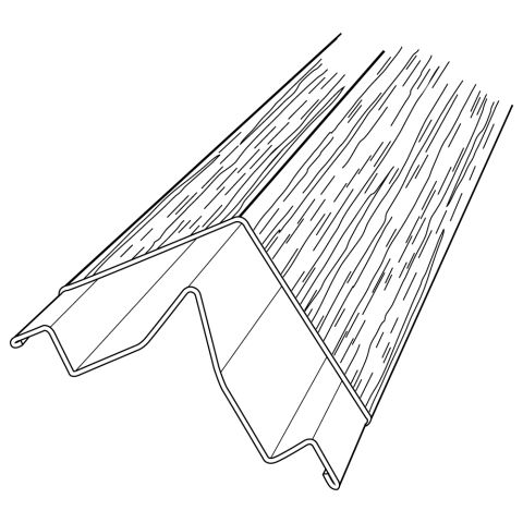 Rollex Aurora Steel Corner Post Cap