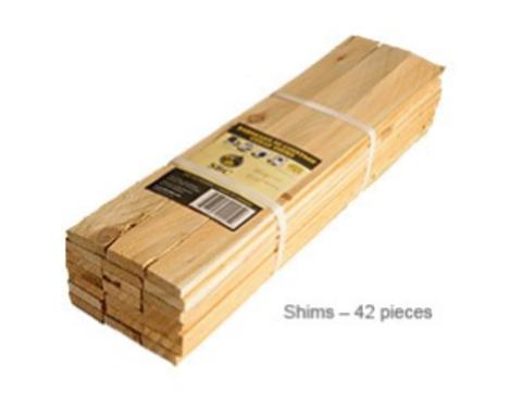 White Cedar Shims Kiln Dried  42 pc/bdl