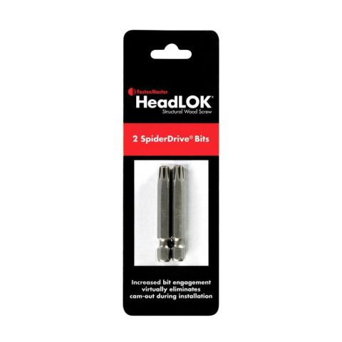 HeadLOK Spider Driver Bit 2/pack